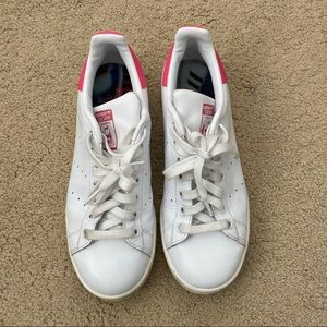 Adidas Pink Stan Smith Shoes
